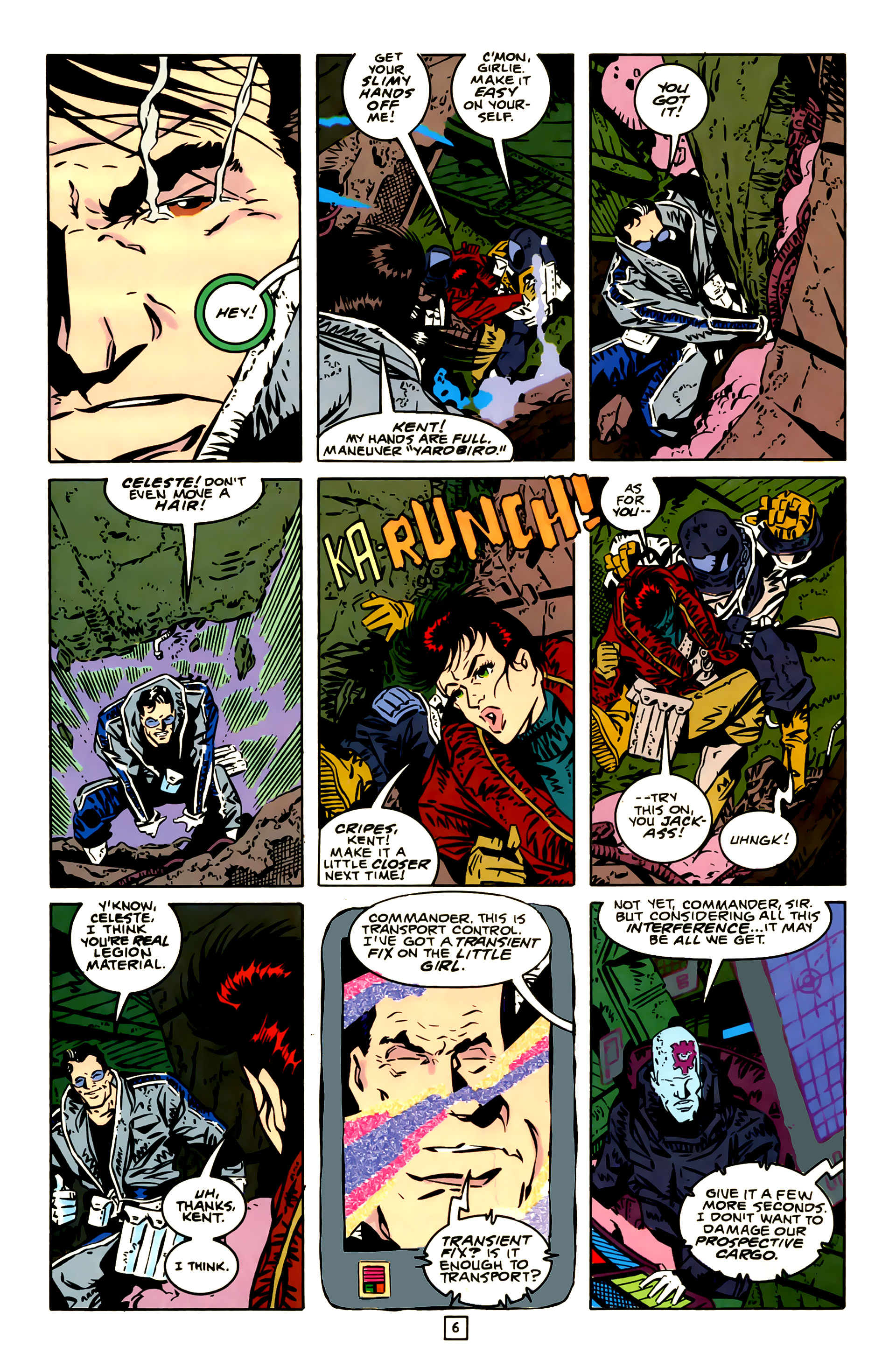 Legion of Super-Heroes (1989) 23 Page 6