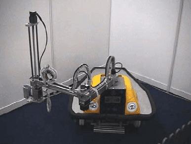 Intelligent Material Handling Mobile Robot