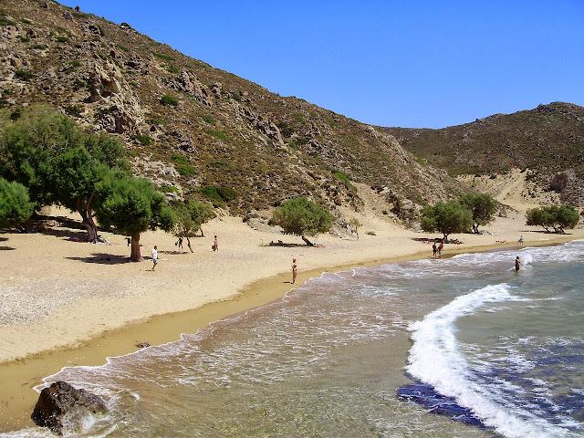Patmos, Psili Ammos Beach - Photo Wanda Benati ©