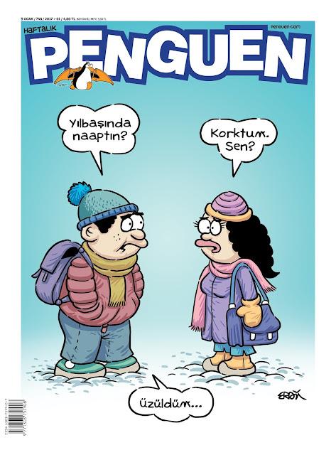Penguen Dergisi | 5 Ocak 2017 Kapak Karikatürü
