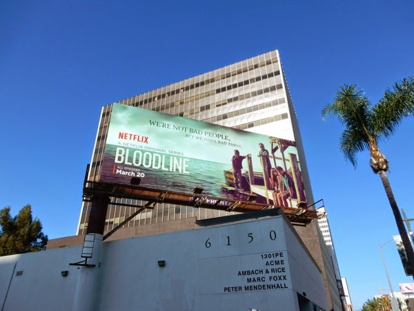 Bloodline series launch billboard