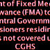 Circular No. C-174_Grant of Fixed Medical Allowance (FMA) to the Central Government Pensioners residing in areas not covered under CGHS