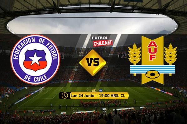 PREVIA: Chile vs Uruguay