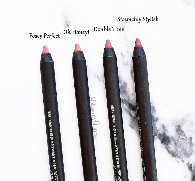 MAC Posy Perfect Oh Honey Pro Longwear Lip Pencil Review