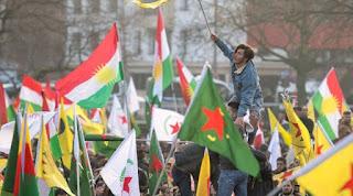 Η γερμανική αστυνομία σταμάτησε διαδήλωση Κούρδων κατά της τουρκικής επίθεσης στη Συρία