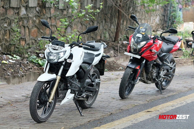 TVS Apache 200 4V vs Pulsar AS200