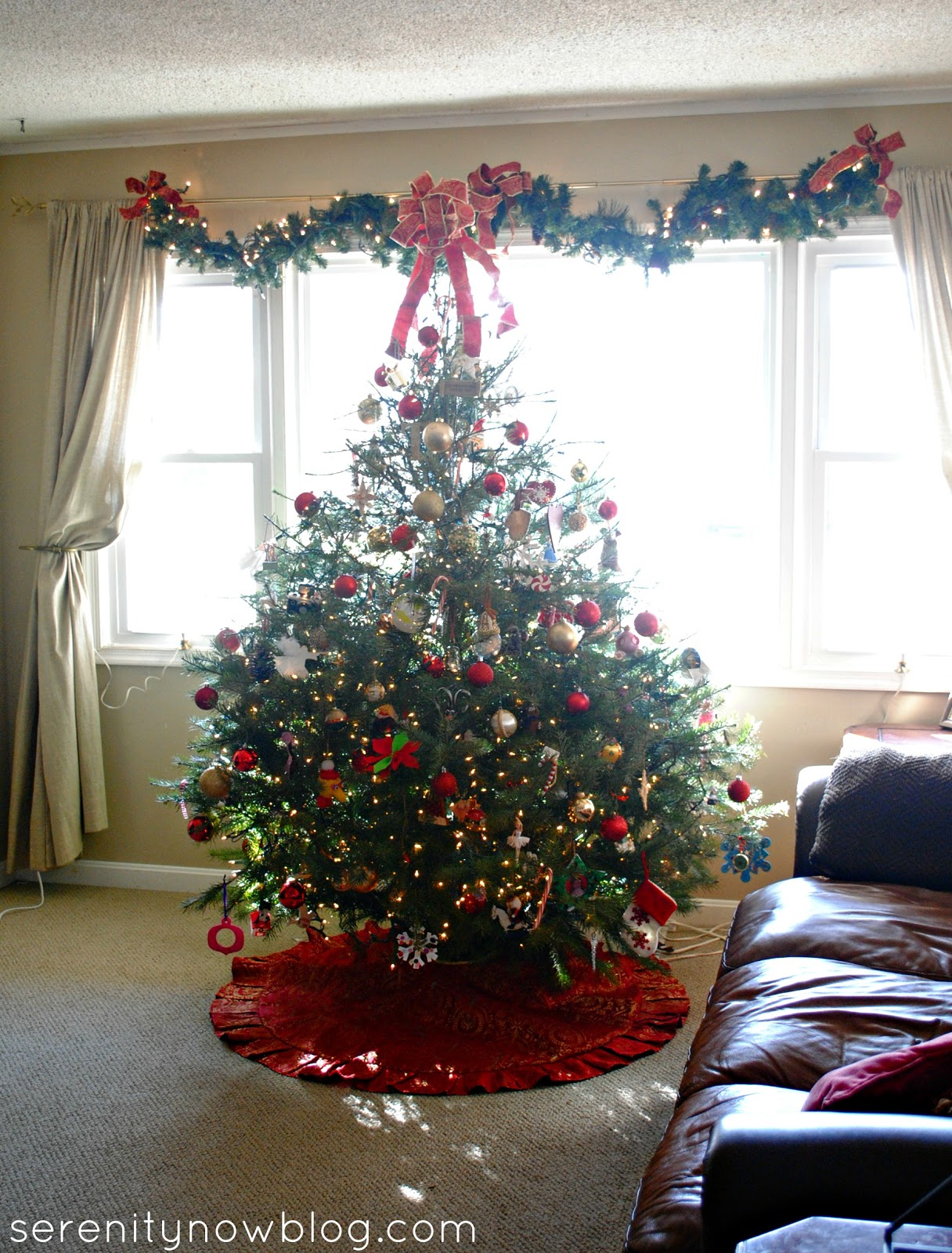 Serenity Now: Our Christmas Tree and Decorations, 2012