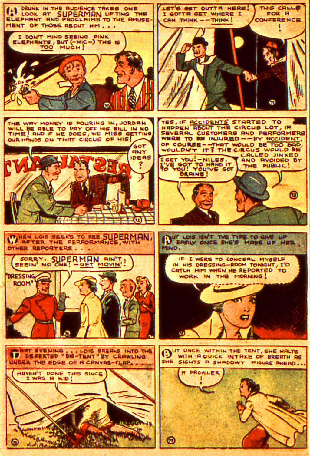 Read online Action Comics (1938) comic -  Issue #7 - 13