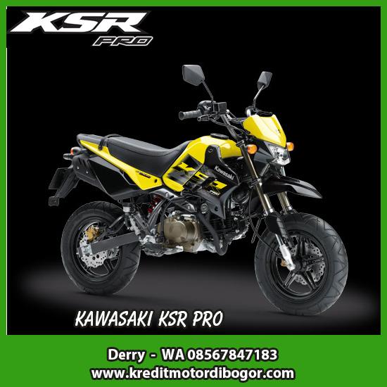 Kredit Motor Kawasaki KSR PRO di Bogor
