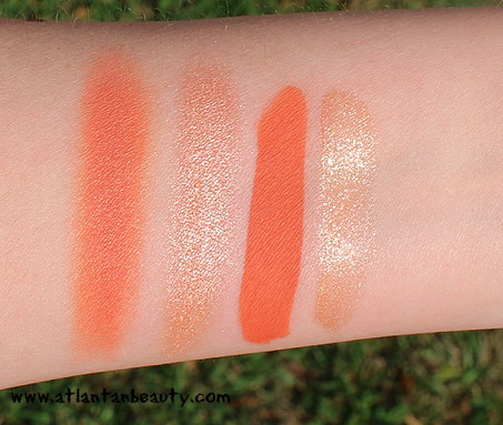 Kylie Cosmetics Kiss Me Mini Set Swatches