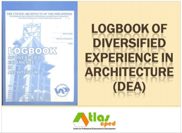 Filling up the Diversified Logbook Form ~ Architecture Review