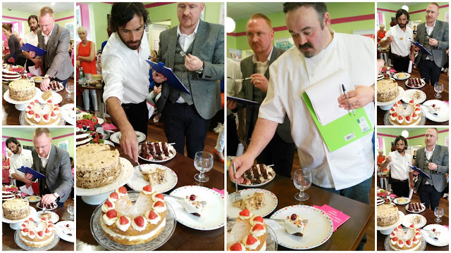 the judges of the White Gables Bake Off