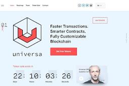 Cara Dapatkan 50 UTN Secara Gratis dari ICO Universa Blockchain Protocol Token Sale