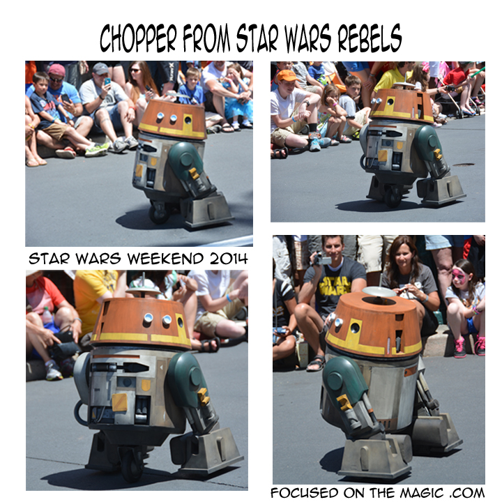 Chopper new droid from Star Wars