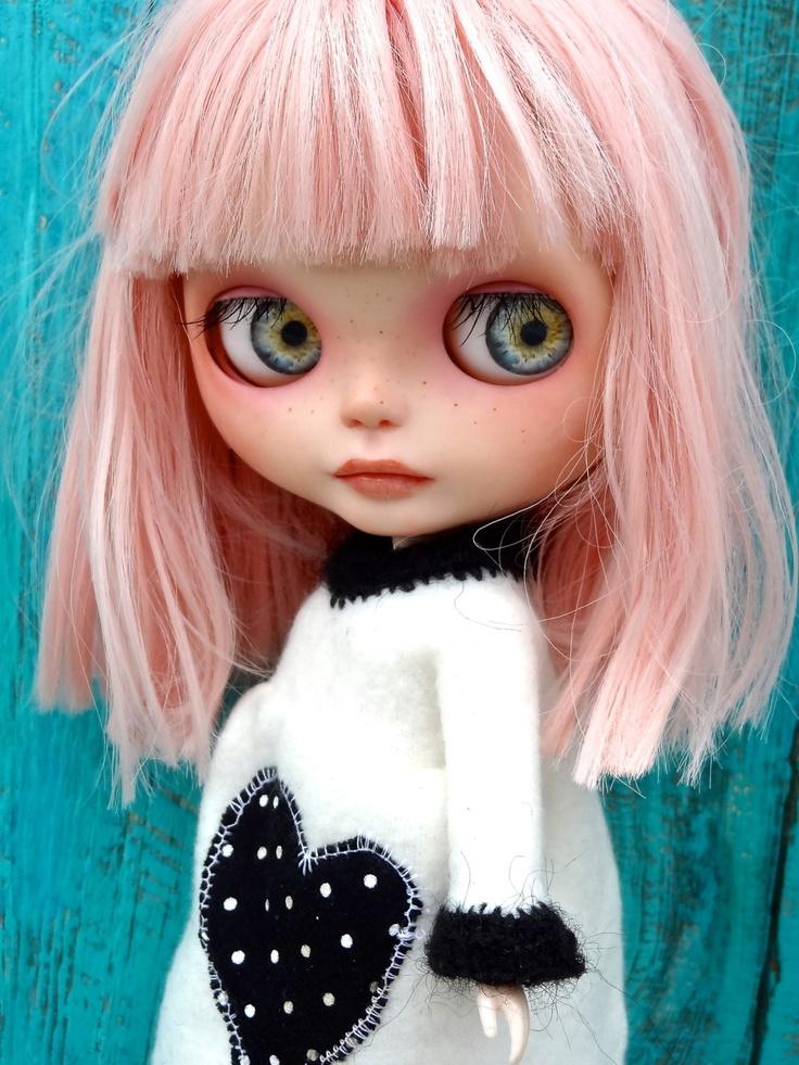 Pop Art Minis: An Inspired Sketch...Big Eyes, Blythe Fun!
