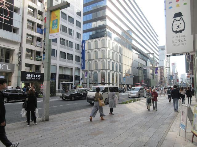 Ginza, San'ai Dream Building, Mitsukoshi, Ginza Place, Nissan, Sony, Prada, Tokio, Tokyo, Japón, Japan, Teatro Kabuki-Za, Pias, Chuo, Harume, Wako, Seiko, Elisa N, Blog de Viajes, Lifestyle, Travel