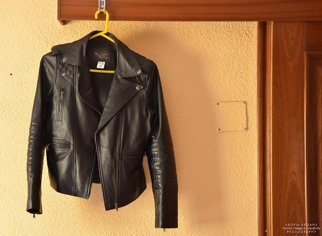 Skórzana kurtka damska prosto z souku - 11 pomysłów na marokański prezent na Mikołaja lub pod choinkę