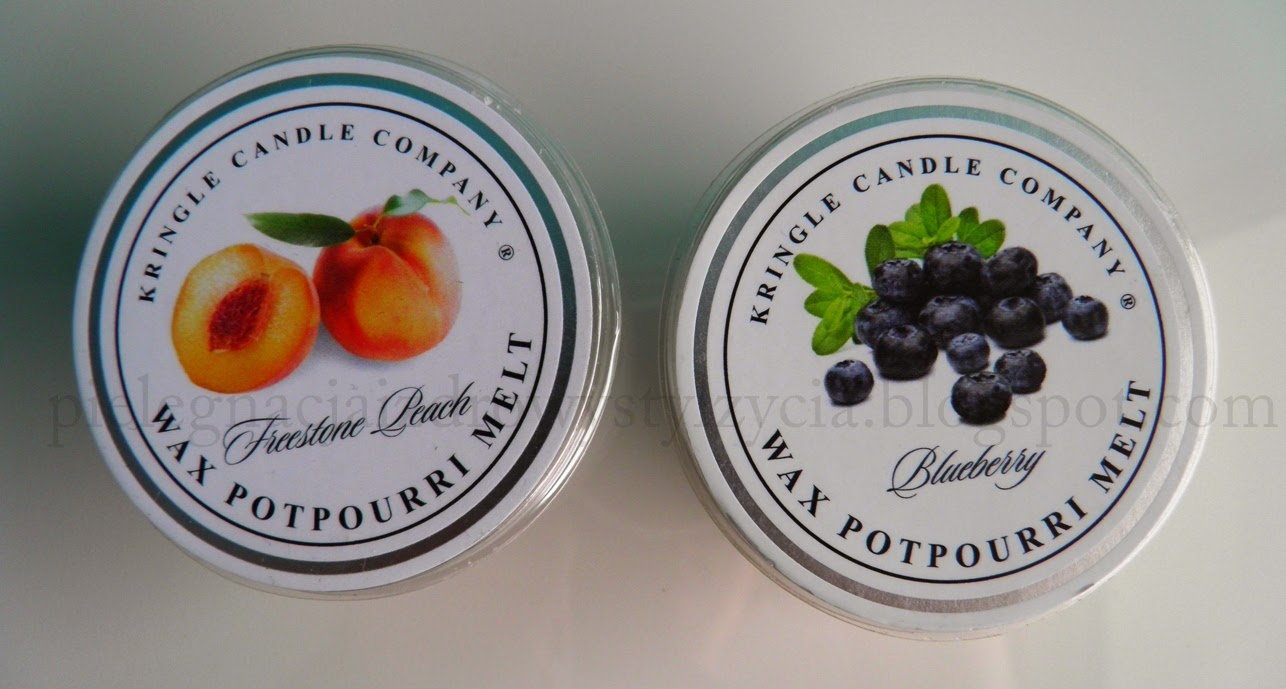 Kringle Candle: Blueberry i Freestone Peach