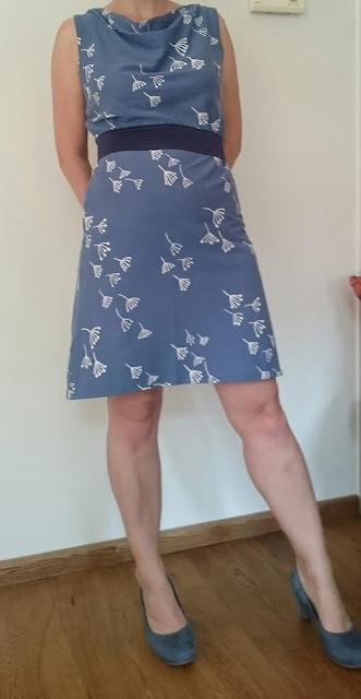 Kenny Pusteblume stof jurk