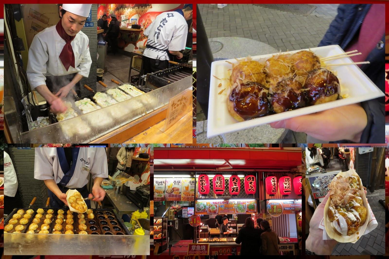 Takoyaki - Octopus Dumplings