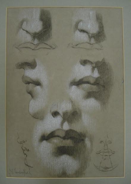 """Susan Lyon Fineart """" Human Figure"""" John . Vanderpoel"""