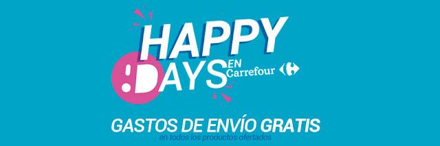 Top 5 ofertas promoción Happy Days de Carrefour Online