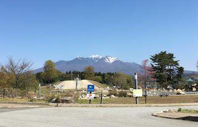 「べるが」から見る八ヶ岳