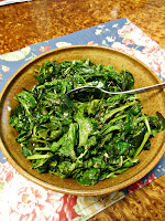 Roasted Bitter Greens.