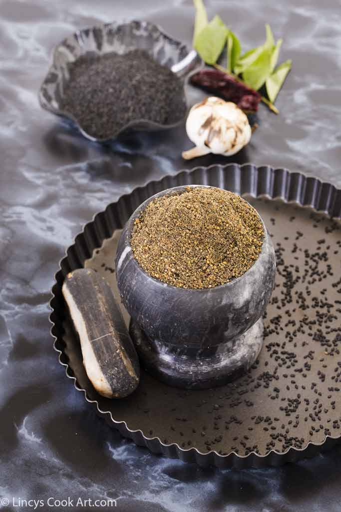 Sesame seeds powder recipe