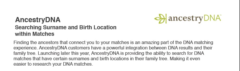 Your Genetic Genealogist: A Sneak Peek at the UPDATED
