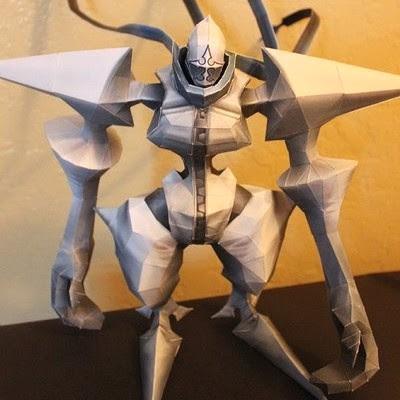 Kingdom Hearts 2 – Twilight Thorn Papercraft