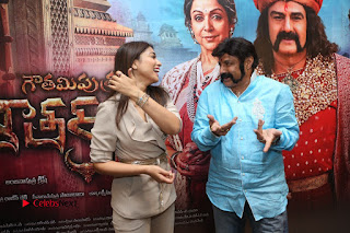 Shriya Saran Nandamuri Balakrishna at Gautamiputra Satakarni Team Press Meet Stills  0198.JPG