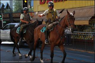 Santiago, Chile, Chili, police