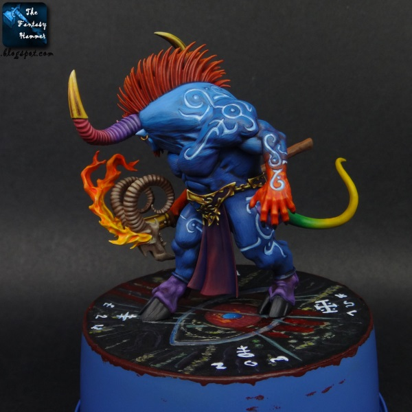 Ogroid Thaumaturge of Tzeentch