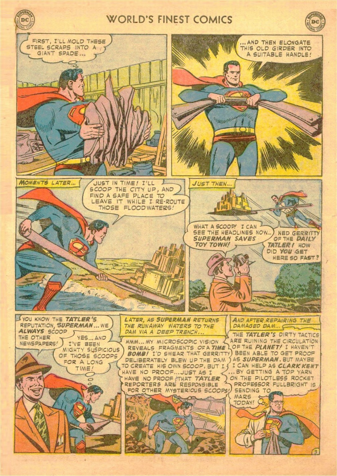 Read online World's Finest Comics comic -  Issue #58 - 5