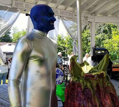 Barry Mangione Blue Alien Mystic Musician
