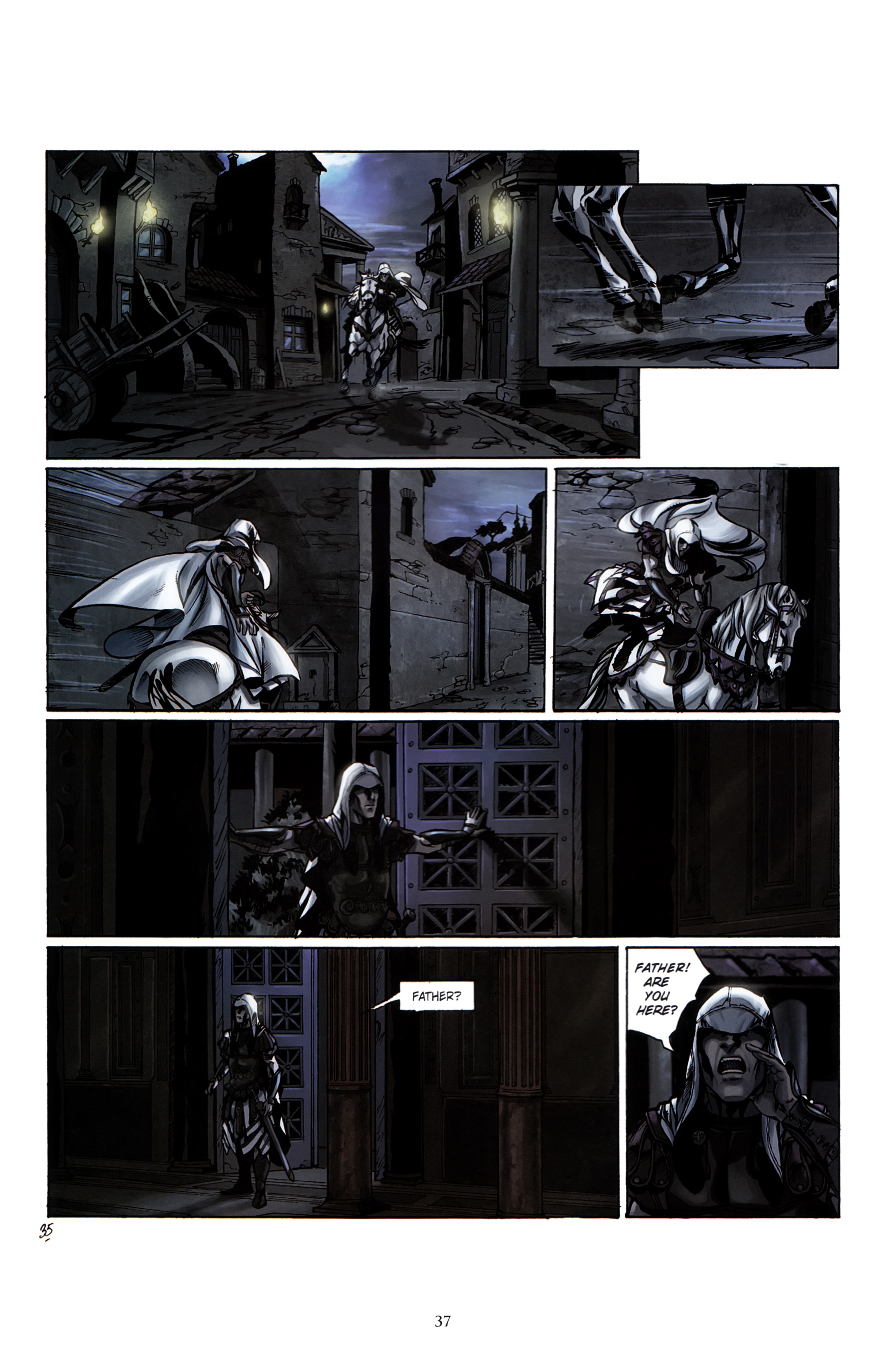 Read online Assassin's Creed (2012) comic -  Issue #2 - 41