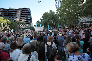 refugee rally melbourne