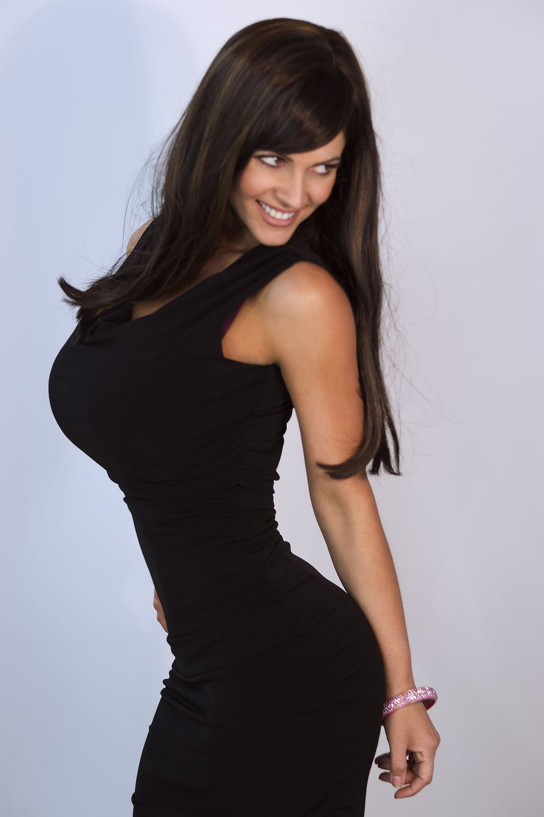 denise milani in a dress - photo #3