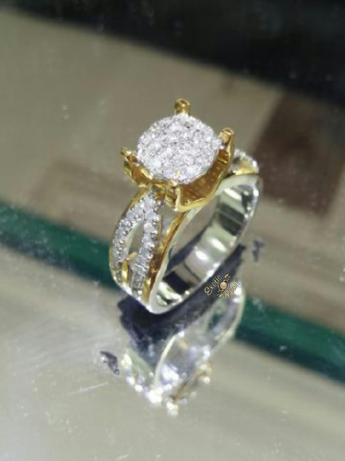 Info Mutiara Asli: Desain Perhiasan Emas Terbaru