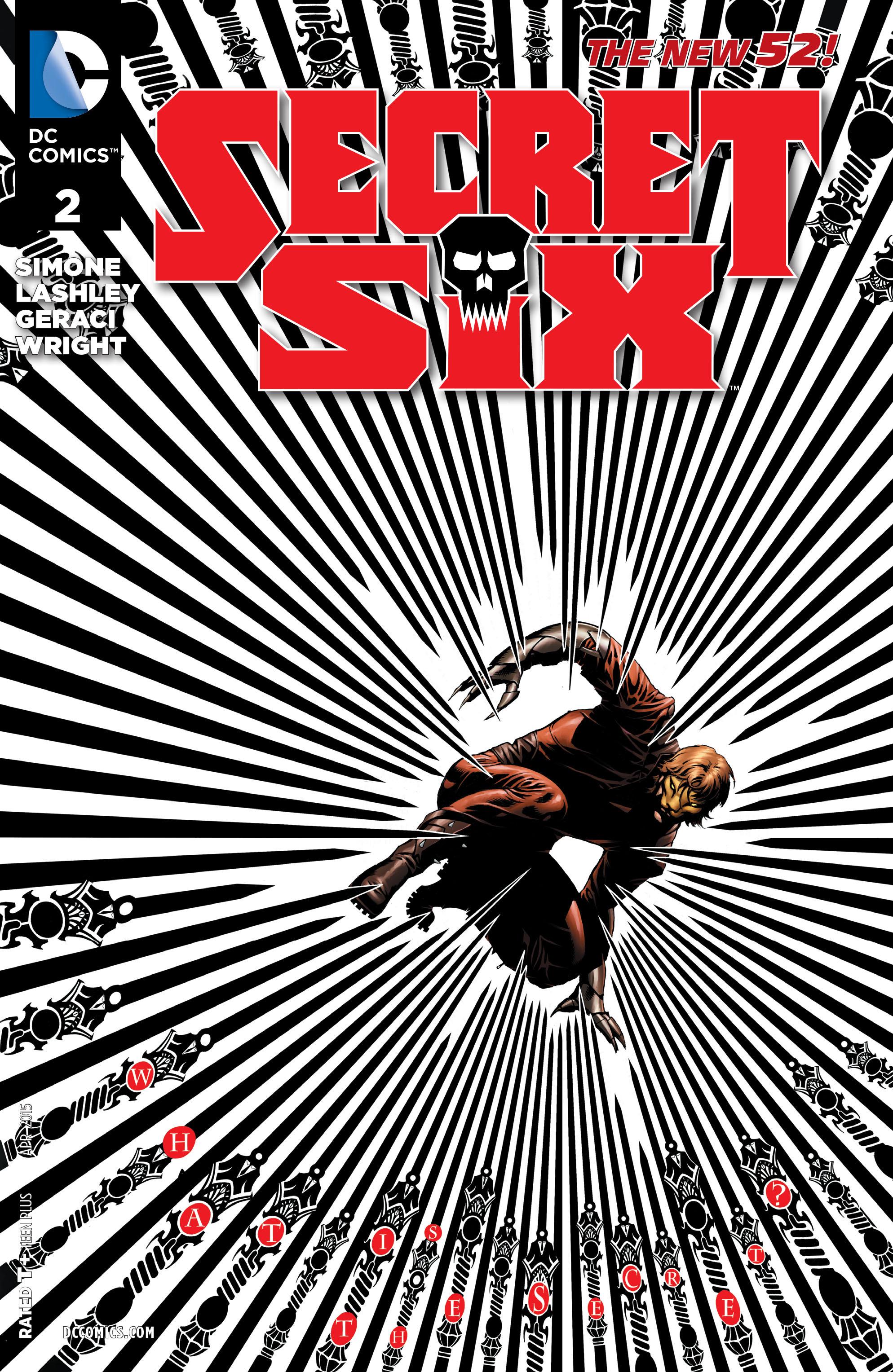 Read online Secret Six (2015) comic -  Issue #2 - 1