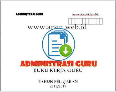 Download Buku Kerja Guru kurikulum 2013 Revisi Terbaru 2019 Fiks