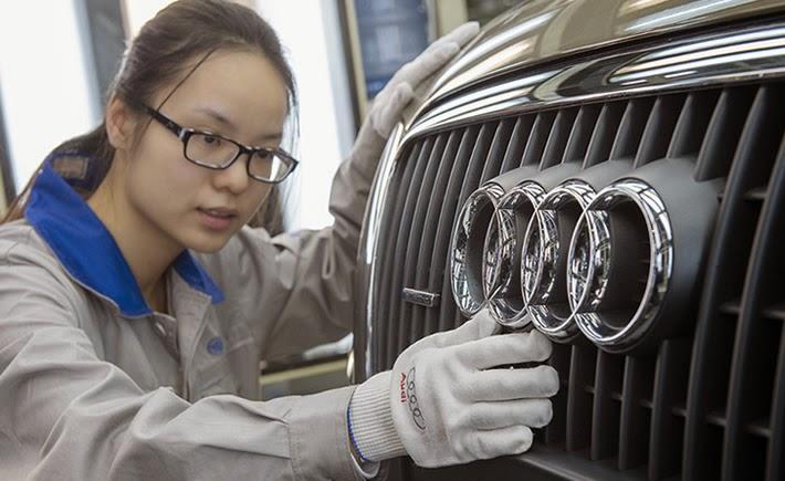 Los salarios en China se han disparado, sin embargo, la productividad no mantuvo el mismo ritmo, por lo que perdió competitividad (Foto: Audi).