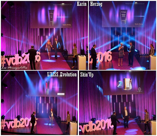 Lauréat Les Victoires de la Beauté 2015/2016 : Karin Herzog - L'LISS Evolution - Skin'Up - Les Mousquetettes©