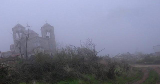В тумане это место выглядит мистически