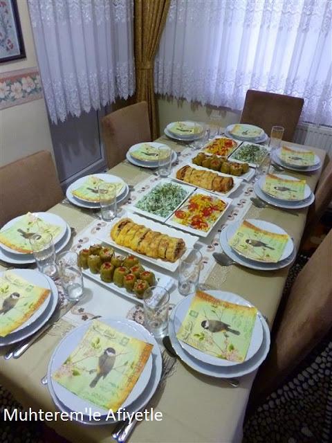 iftar yemeği resimleri