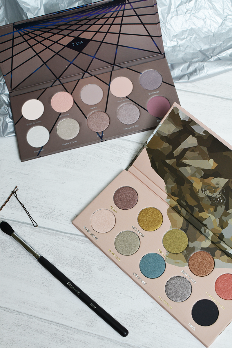 Zoeva Palettes Beauty Bay Review Mixed Metals En Taupe Swatches | Colours and Carousels - Scottish Lifestyle, Beauty and Fashion blog