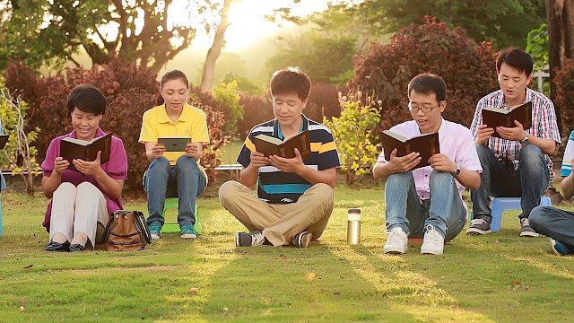 全能教会图片-读神话赞美神