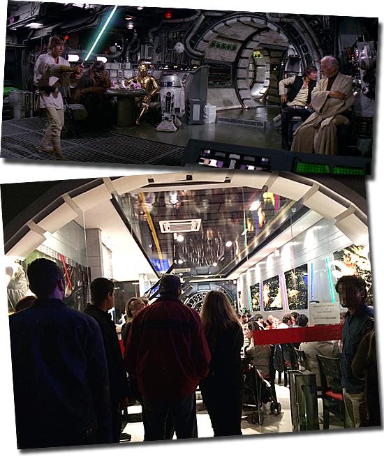 Jedi's Burguer - SP - Lanchonete Star Wars - Millenium Falcon interior