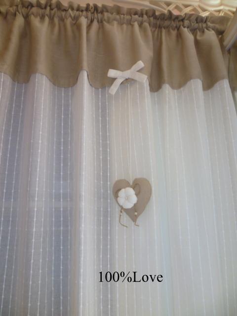 100 love tende country shabby